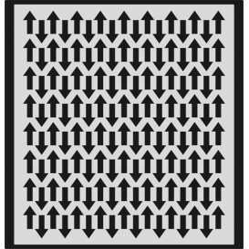 L034 Stencil 20x24 cm