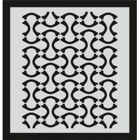 L038 Stencil 20x24 cm