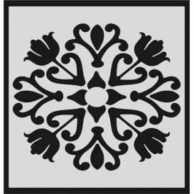 L045 Stencil 20x24 cm