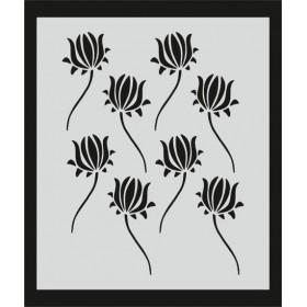 L046 Stencil 20x24 cm