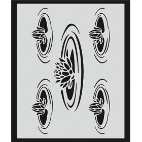 L047 Stencil 20x24 cm