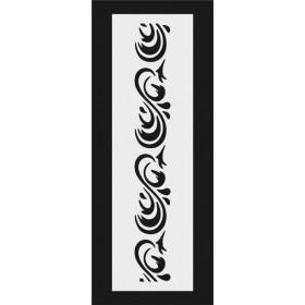 U056 Stencil 10x25 cm