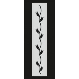 U062 Stencil 10x25 cm