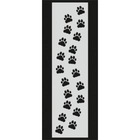 U063 Stencil 10x25 cm