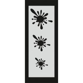 U064 Stencil 10x25 cm