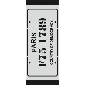U069 Stencil 10x25 cm