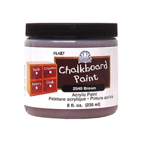 Plaid Folkart Chalkboard - Kahverengi - Akrilik Kara Tahta Boyası 236 ml