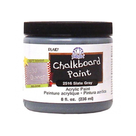 Plaid Folkart Chalkboard - Gri - Akrilik Kara Tahta Boyası 236 ml