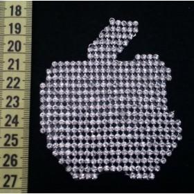 Apple - Gümüş - Ütüyle Yapışan Taş