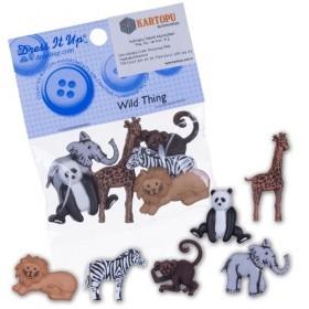Dekoratif Düğme Hayvanlar Alemi 3600