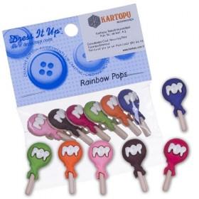 Dekoratif Düğme Lolipoplar 6955