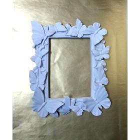 Polyester Kelebekli Çerçeve Küçük Boy 25x21 cm
