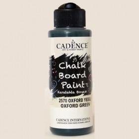 Cadence 2570 Oxford Yeşili Chalkboard Paint Karatahta Boyası 120 ml