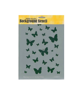Background Stencil A4 BC-A45011