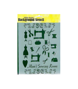 Background Stencil A4-5019
