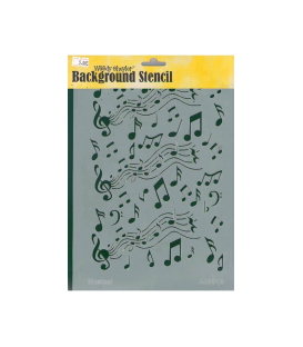 Background Stencil A4-5016