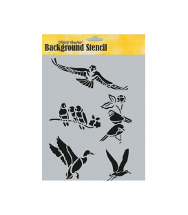 Background Stencil A4 BCA-45057