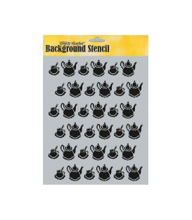 Background Stencil A4 BCA-45056