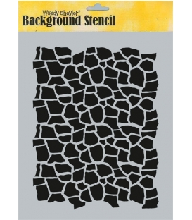 Background Stencil A4 BC-A45050