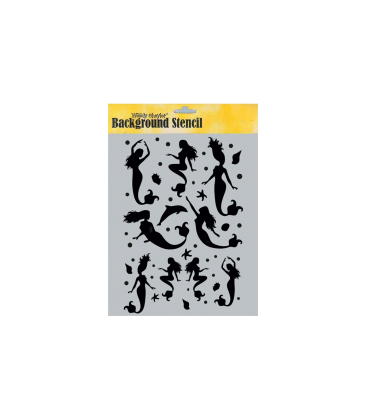 Background Stencil A4 BC-A45048