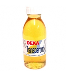 Deka Transparent 125 ml Cam Boyası 02-00 Farblos (İnceltici)