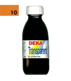 Deka Transparent 125 ml Cam Boyası 02-10 Orange (Turuncu)