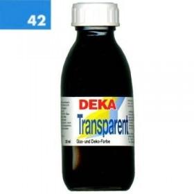 Deka Transparent 125 ml Cam Boyası 02-42 Hellblau (Açık Mavi)