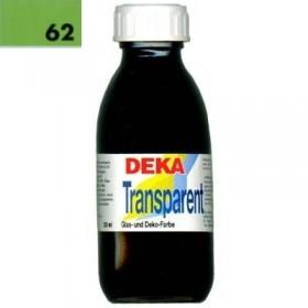 Deka Transparent 125 ml Cam Boyası 02-62 Hellgrün (Açık Yeşil)