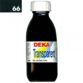 Deka Transparent 125 ml Cam Boyası 02-66 Dunkelgrün (Koyu Yeşil)
