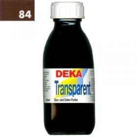 Deka Transparent 125 ml Cam Boyası 02-84 Braun (Kahverengi)