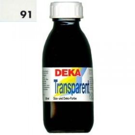 Deka Transparent 125 ml Cam Boyası 02-91 Altweib (Beyaz)