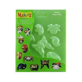 Makin's Clay Push Mold Şekilleme Kalıbı Maske