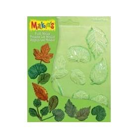Makin's Clay Push Mold Şekilleme Kalıbı Yapraklar
