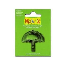 Makin's Clay Kesme Kalıbı 3 Parça Şemsiye