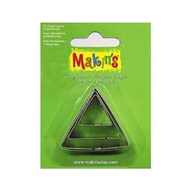 Makin's Clay Kesme Kalıbı 3 Parça Üçgen