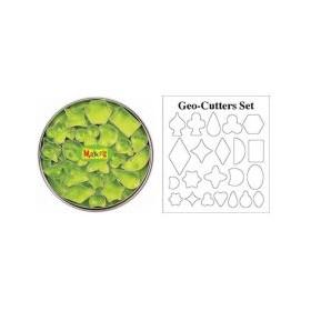 Makin's Clay Kesici Kalıp Seti Geometrik 22 Desen