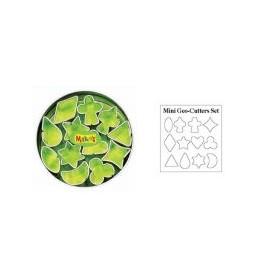 Makin's Clay Kesici Kalıp Seti Mini Geometrik 12 Desen
