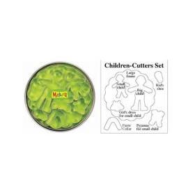 Makin's Clay Kesici Kalıp Seti Çocuklar 7 desen