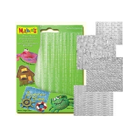 Makin's Clay Texture Sheets Doku Kalıpları 4'lü Set A
