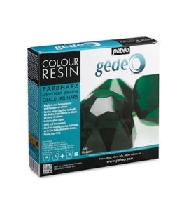 Pebeo Gedeo Colour Resin Jade Yeşil Renkli Reçine 150 ml. Kit