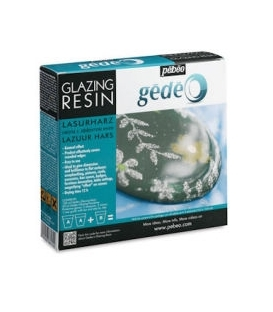 Pebeo Gedeo Glazing Resin Sırlama Reçinesi 150 ml. Kit