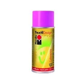 Marabu Textil Design Akrilik Bazlı Sprey Kumaş Boyası 150 ml. PEMBE