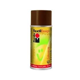 Marabu Textil Design Akrilik Bazlı Sprey Kumaş Boyası 150 ml. KAHVE