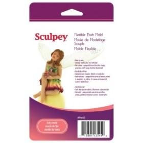 Sculpey Flexible Push Mold Esnek Model Kalıbı Bebek Figürü 2