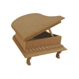 Piyano Kutu Ahşap Obje