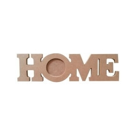 Home Mumluk 33x11 cm. Ahşap Obje