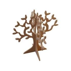 Takı Ağacı 30x30cm Ahşap Obje