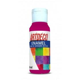 Artdeco 832 Magenta Enamel Cam ve Seramik Boyası 60 ml