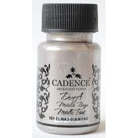 Cadence Dora 151 Elmas Metalik Boya 50 ml.