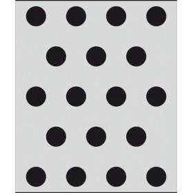 L051 Büyük Puantiye Stencil 20x24 cm